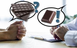 Можно ли при отравлении есть шоколад? А если очень хочется?