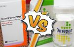 Препараты Энтерол и Энтерофурил — в чем разница?