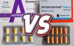 Что лучше принимать от диареи – Энтерофурил или Лоперамид?