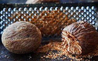 Мускатный орех как наркотик: наркотический эффект, передозировка