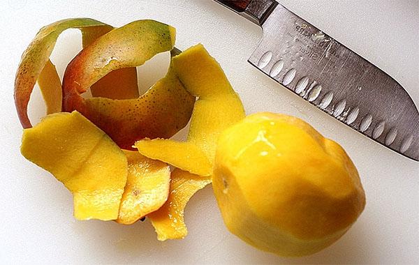 Кожура манго