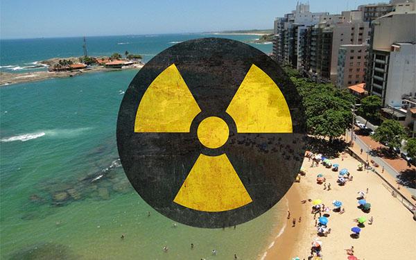 """Радиоактивный"" пляж в Гуалапари"