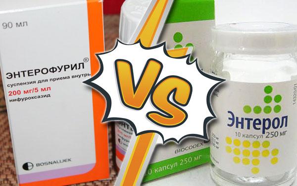 Энтерол или энтерофурил в чем разница