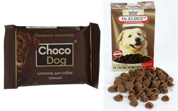"""Лакомства """"под шоколад"""" для собак"""